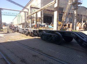 Вакуумная колонна - Железнодорожная перевозка